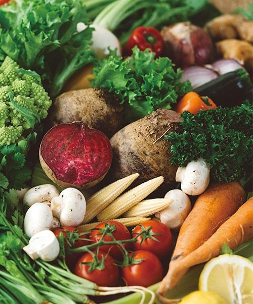 ベリテの野菜は新鮮な野菜や果物を追及しています。